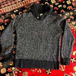 Roots Women's Cotton Blend Pullover Knit Sweater Medium